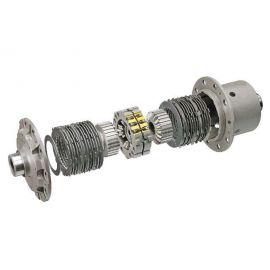 100% Locking Limited Slip Differential