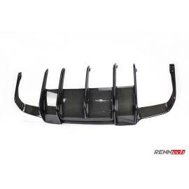 RENNtech | Carbon Fiber | Rear Diffuser | 212 - E Class | Sedan | up to MY 2013