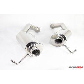 RENNtech   Stainless Steel Sport Mufflers   E 63 AMG   S212-Wagon   5.5L BiTurbo V8   M157   MY 2014+