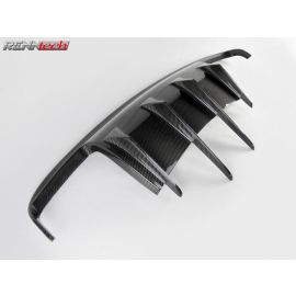 RENNtech Carbon Fiber Rear Diffuser for 219 - CLS Class