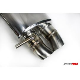 RENNtech | Stainless Steel Sport Mufflers | S 65 AMG Coupe | C217 | 6.0L BiTurbo V12 | M275