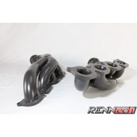 RENNtech Long Tube Headers with Downpipes and 200 Cell Sport Catalytic Converters for 204 - C63